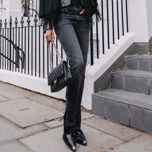 Grlfrnd 'Natalia' jeans in Hot Stuff size 24